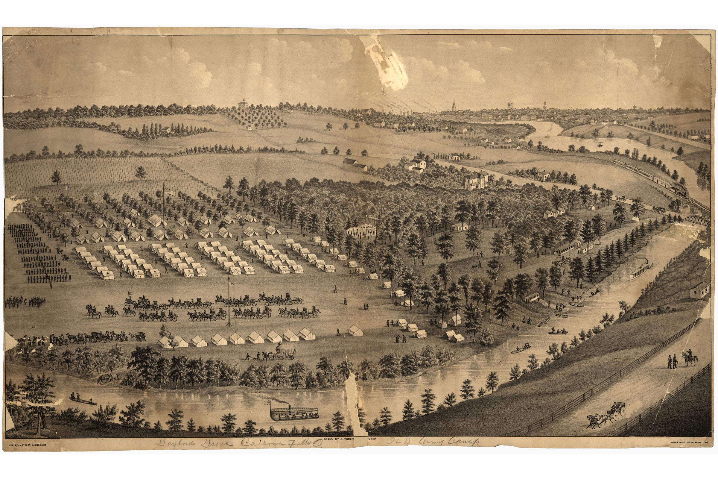 24x36 Vintage Reproduction Civil War Railroad Map Of South Carolina 1880