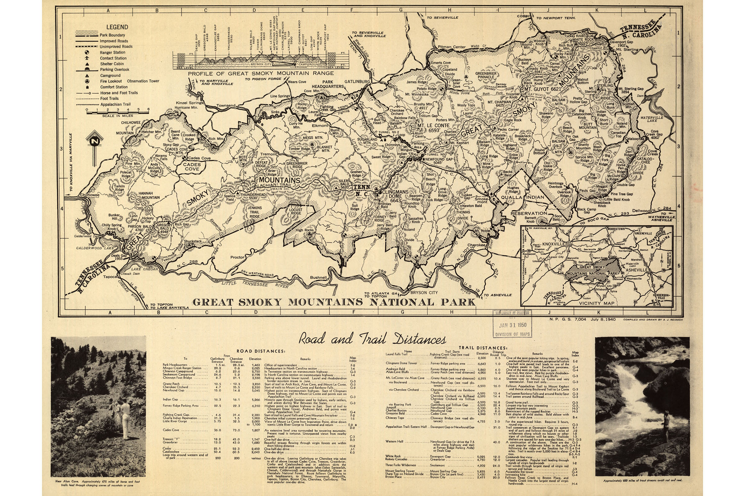 Details about Map Of Great Smoky Mountains National Park; Antique Map, on map of the ozarks, map of great smoky mountains in tennessee, map of the grand canyon, map of the sequoia national park, map of the cumberland plateau, map of the adirondack park, map of the university of virginia, map of the smoky mtns,