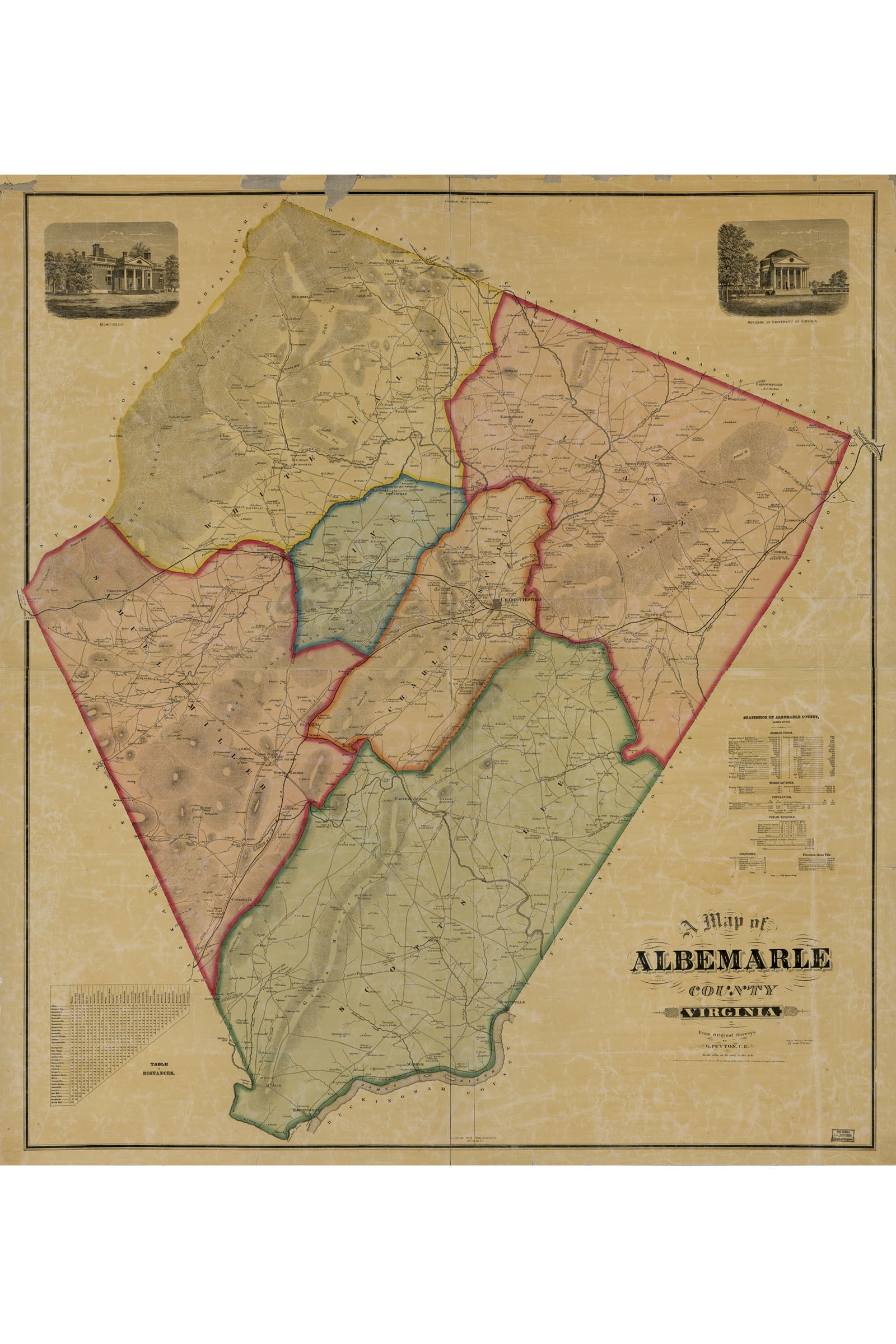 Details about Map of Albemarle County, VA including Charlottesville; on map of james city county va, map of charles city county va, map of charlotte county va, map of isle of wight county va, map of thomasville city, map of giles county va, map of gloucester county va, map of prince george county va, map of greensville county va, buchanan county va, map of elizabeth city county va, map of norfolk city county va, map of nelson county va, map of bland county va, towns in louisa county va, map of new kent county va, towns in augusta county va, weather albemarle county va, cities in orange county va, map of king and queen county va,