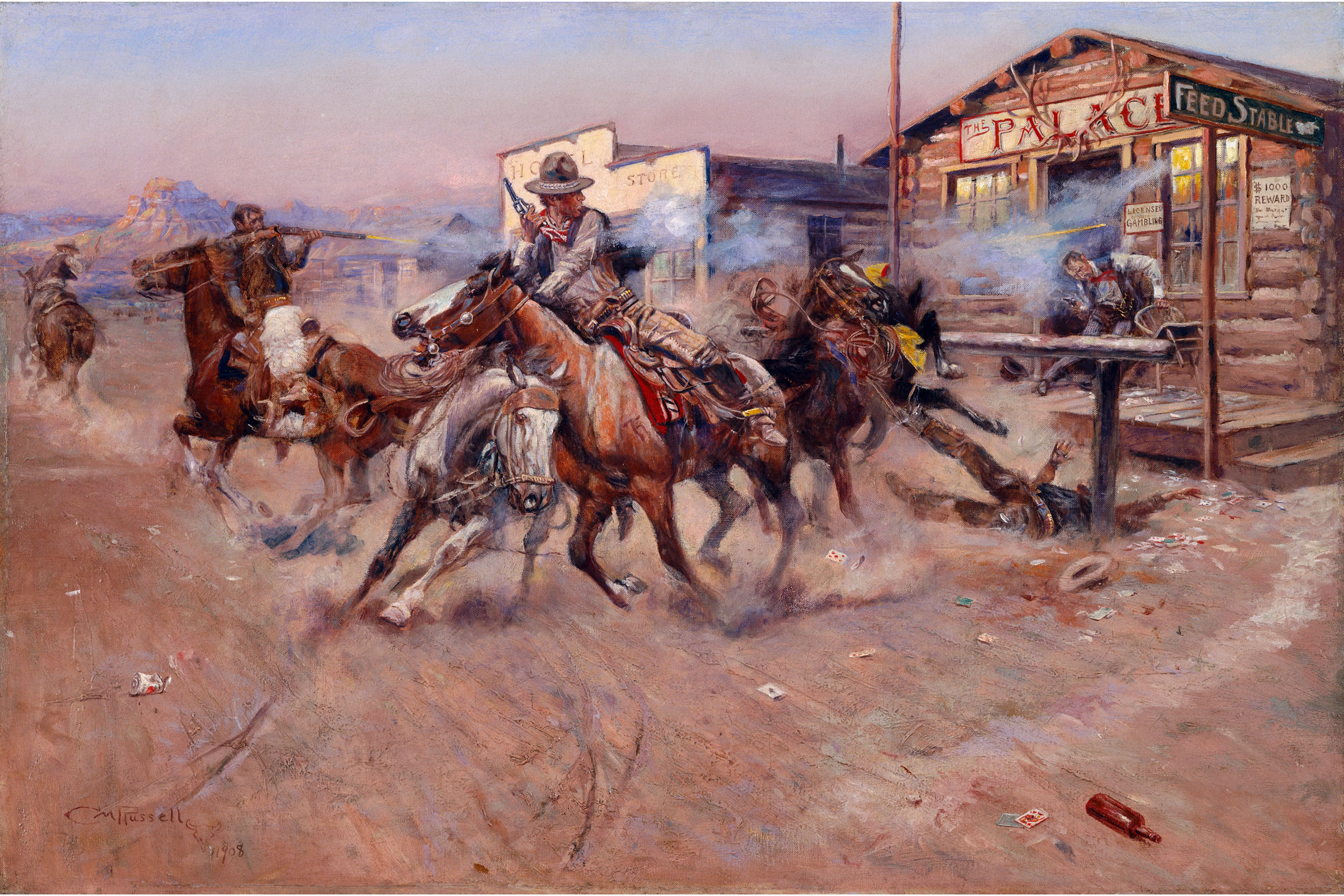Old American West Wall Decor Charles Marion Russell The Scout Art Print Poster 16x20